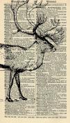 Highland Stage Art Print - Antique Art - Vintage Dictionary Art Print - Vintage Art Print - Wall Art Print - Gift - Artwork - Dictionary Page - Dictionary Art - Vintage Art - Illustration - Wall Hanging - Home Décor - Housewares - Book Print - Black & ..