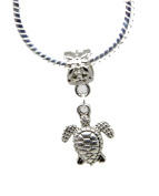 Turtle Animal Gift Dangle Bead for Silver European Charm Bracelets Clip on Charm chain link bracelet meaning charms