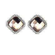 Pietra Flower Women's Alloy diamond Jewellery Suit