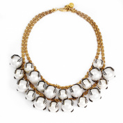 Lulu Frost Decade Statement Necklace of 50.8-53.34cm
