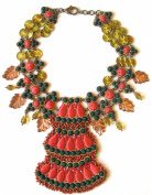 Sveva Collection Statement Maharani Necklace of 26-27cm