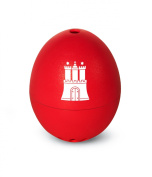 Brainstream PiepEi Hamburgers, Egg Timer, Egg Timer, Red, Plays 3 Melodies & A004538