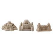 GGG 6 Pcs Big Kinetic Motion Sand Castle Building Model Mould Beach Toys Kit for Children