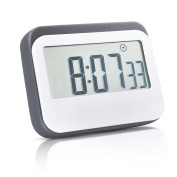 Mudder Magnetic Digital 24 Hours Kitchen Timer/ Clock with Large Screen