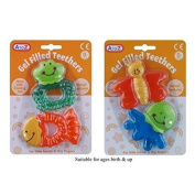Gel Filled Teethers - Pack of 2 Assorted Designs