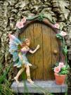 Fabulous Sparkle Fairy Door - Random Colour