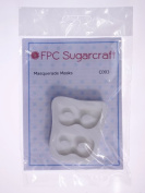 Masquerade Masks - Silicone Icing Mould for Cake and Cupcake Decoration by FPC