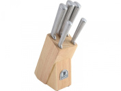 Sabatier Classic 5-Piece Knife Set with Rubberwood Block