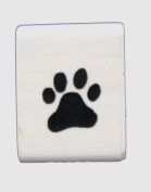Funstamps Rubber Stamp Mini Paw Print