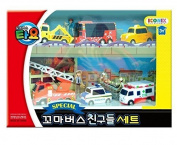 Little Bus TAYO FRIENDS Special Mini 6 Pcs Toy Set (Citu + Alice + Nuri + Pat + Toto + Frank) by ICONIX