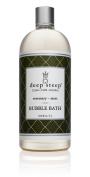 Deep Steep Litre Bubble Bath, Rosemary Mint, 33.8 Fluid Ounce