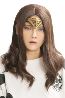 Xcoser Wonder Woman Wig Movie Cosplay Costume Wig Accessories for Halloween Party
