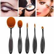 Makeup Brush, Bestpriceam 5PC/Set Toothbrush Style Eyebrow Brush Foundation Eyeliner Makeup Brushes