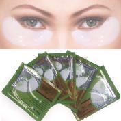 WindMax® Pack of 10 Pairs Collagen Crystal Gel Eye Mask Eyelid Under Patch Deep Moisture Anti Wrinkle Salon Beauty Tools