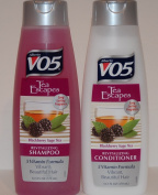Alberto V05 Tea Escapes Blackberry Sage Tea Revitalising Shampoo and Conditioner Bundle 2 Items and Conditioner 370ml Each