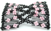 Lovef Hot Sale Magic Hair Beauty Decoration Comb Mixed Beads Handmade Hairpin Bow Lady