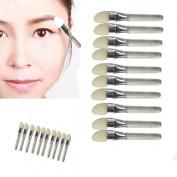 Creazy® 10Pcs Makeup Eye Shadow Eyeliner Brush Sponge Applicator Tool