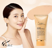 AHC Intense Contour Balm 50ml (1.6 oz) BB Cream Skin Surfacing Formula, Phyto Calming Complex Smoothes, Protects the Skin, and Helps to Make Up Natural and Soft Skin for the Specialised Skincare