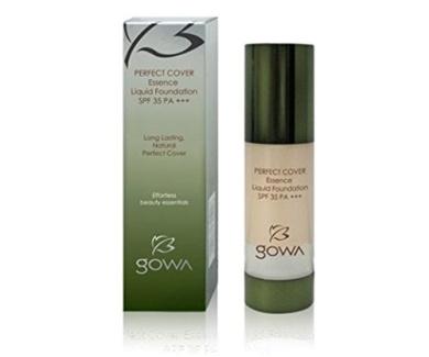 Gowa Perfect Cover Essence Liquid Foundation SPF 35 Pa+++ 30ml (Shade 23) - 3 Bottles