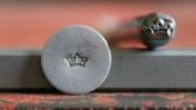 Supply Guy 5mm Crown Metal Punch Design Stamp F-15
