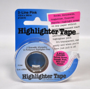 Removable Highlighter Tape Pink