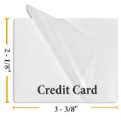 Guardian Choice Paper Finishing Supplies 5 Mil Small Bookmark 1 3/8 x 5 1/2 - 100 Laminating Pouches