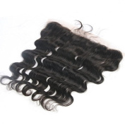 Eva Hair Brazilian Body Wave Lace Frontal Closure 100% Human Hair Full Frontal Lace Closure 13x 2 Ear to Ear Lace Frontals with Baby Hair