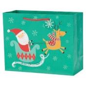 Spritz Santa Sleigh Gift Bag Vogue
