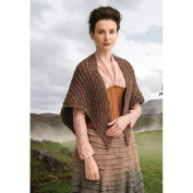 Lion Brand Yarn 600-618 Outlander Kit -Arrival At Lallybroch Shawl
