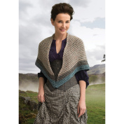 Lion Brand Yarn 600-621 Lavish Mac Kenzie Clan Shawl (Crochet) Outlander Kit