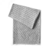 Esteffi Edelweiss Wool Blend Baby Blanket, Grey