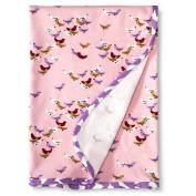 Baby Nay Baby Receiving Blanket - Ballet Pink