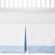 Circo Craft 100% Cotton Pleated Baby Crib Bed Skirt