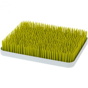 Easily Drying/Cleaning Countertop Bottle Drying Rack Grass Design, Green