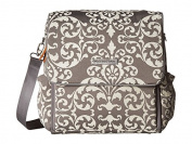 petunia pickle bottom Chenille Boxy Backpack Earl Grey 1 Nappy Bags