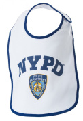 NYPD Baby Bib Logo - Officially Licenced New York City Police Department Gift