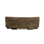 Elaine Turner Women's Calf Hair Simone Clutch Bag One Size Optic