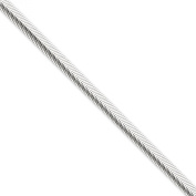 .925 Sterling Silver 6.25MM Flat Oval Snake Link Chain Necklace