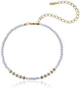 Ettika Still Surprise You Opal and Gold Choker Necklace, 28cm + 13cm Extender