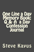 One Line a Day Memory Book