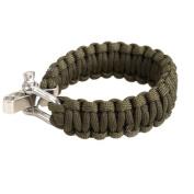 Awakingdemi Adjustable Parachute Cord Bracelet Tough 7-Strand Rope Bracelet Outdoor Survive Tool 3 Colours