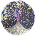Awakingdemi 5D DIY Crystal Diamond Painting, Rhinestone Painting, Counted Peacock Embroidery Painting Cross Stitch