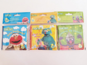 Sesame Street Bath Time Bubble Books -Three Piece Set- Elmo Pretend!, Growing Up Strong!, and What To Wear! 2015
