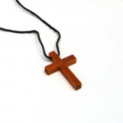 Fun Express - Wooden Cross Necklaces