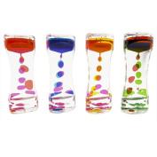 Funlop Liquid Motion Bubbler Drop Motion Desk Toy - Sensory Play, Assorted Colours (Bubbler) 1 - Piece