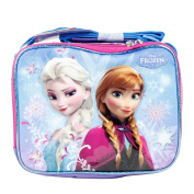 Disney Frozen Anna and Elsa Insulated School Lunch Bag for Girls