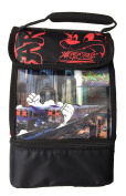 Arctic Zone Black and Red Lenticular Lunch Box Lunchbox With Microban
