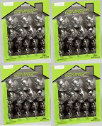 Suction Cup Hooks (68 Pieces) Clear Silicon with Metal and Plastic Hooks