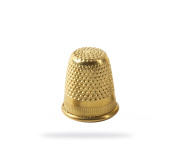 40387 - Golden Thimbles- Bag 10 pcs - ø15mm