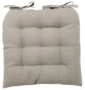 vanki Soft Chair Cushion / Pad - 36cm x 36cm , Grey